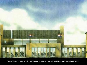 093 1992 01 geveltekening St. Michaelschool