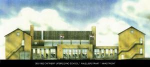 093 1992 St. Michaelschool, ontwerp voorgevel uitbreiding