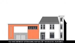 152 1998 ontwerp gevel Rijksweg