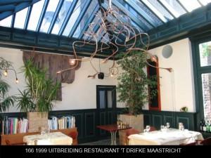 166 1999 uitbreiding restaurant
