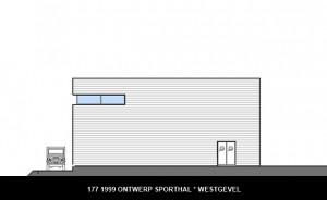 177 1999 sporthal Westgevel