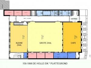 159-1988 20 De Holle Eijk - plattegrond