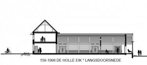 159-1988 21 De Holle Eijk - langsdoorsnede