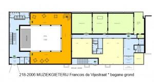 218-2006 MGM-3 Francois de Vijestraat - begane grond